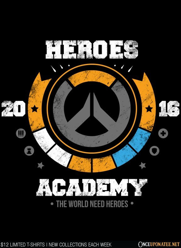 Once Upon a Tee: Heroes Academy