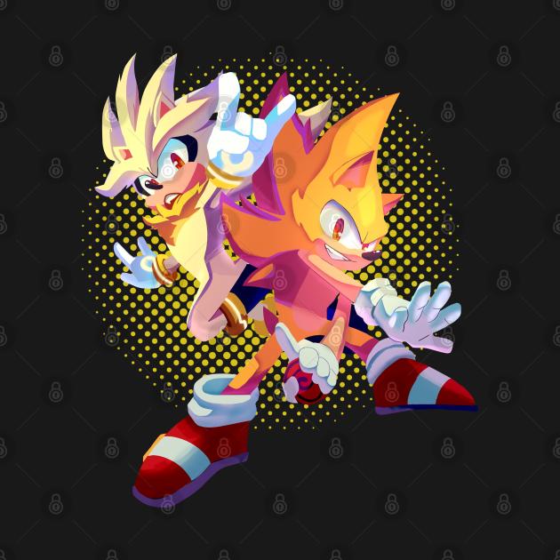 TeePublic: Sonic gold megic