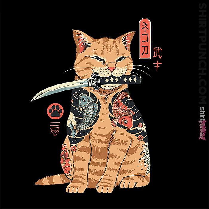ShirtPunch: Catana