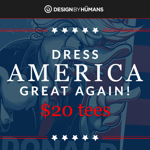 Design by Humans: Presidents' Sale