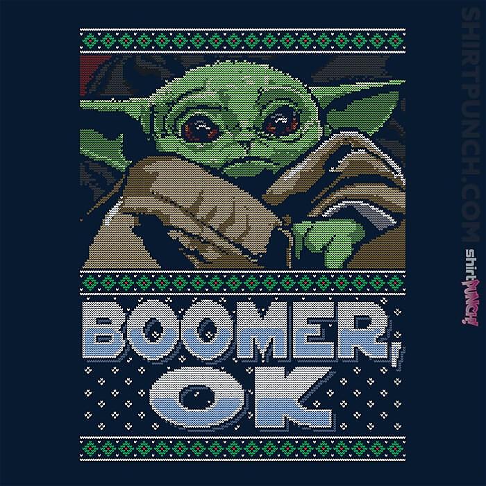ShirtPunch: Boomer Ok Baby Yoda Sweater