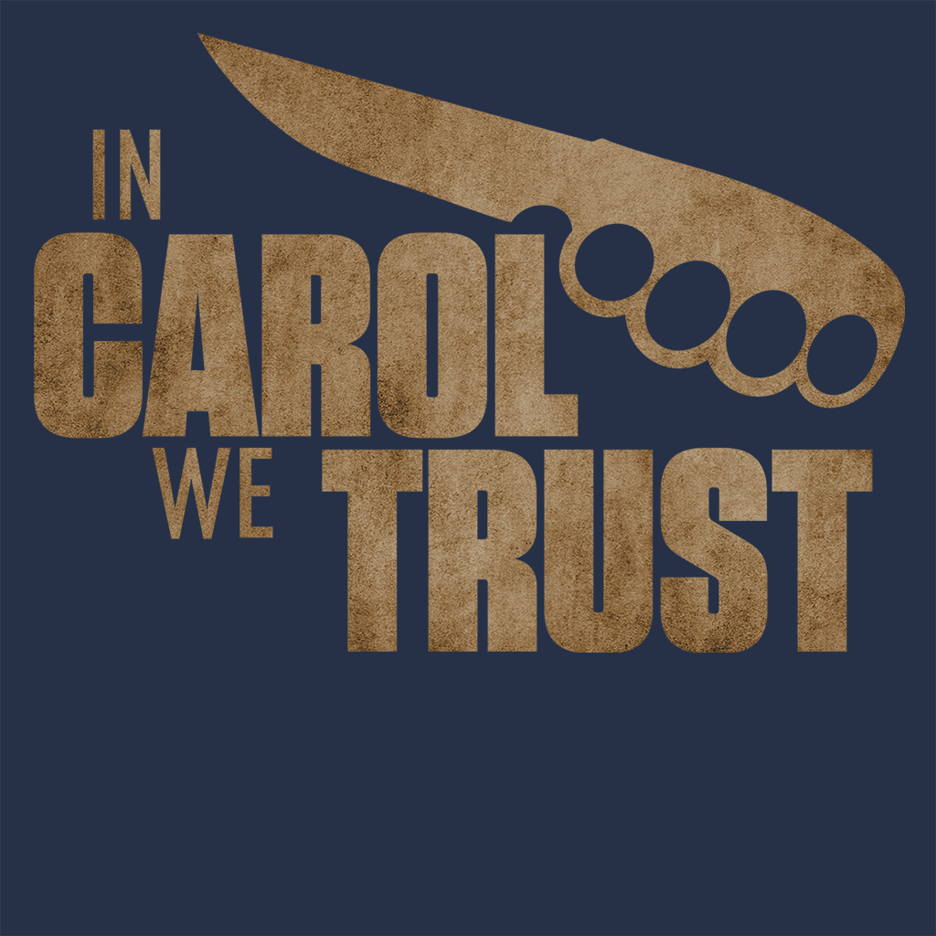 Pop-Up Tee: In Carol we Trust