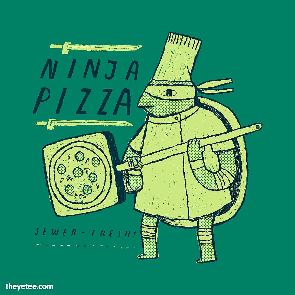 The Yetee: ninja pizza