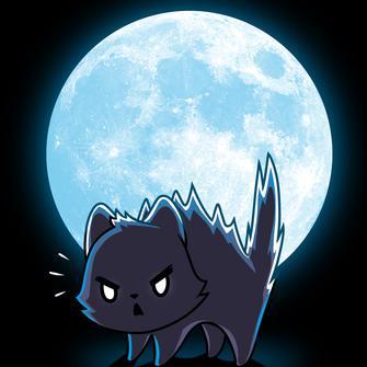 TeeTurtle: Black Cat