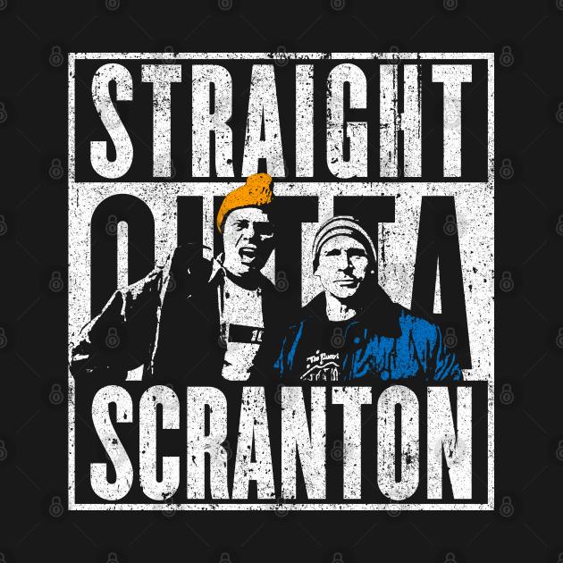 TeePublic: Straight Outta Scranton - Lazy Scranton
