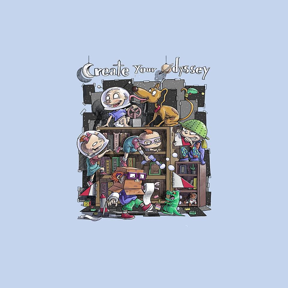 TeeFury: Create Your Odyssey