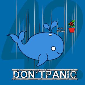 Qwertee: Don't Panic