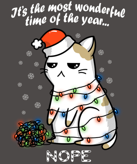 Qwertee: The most wonderful time... NOPE