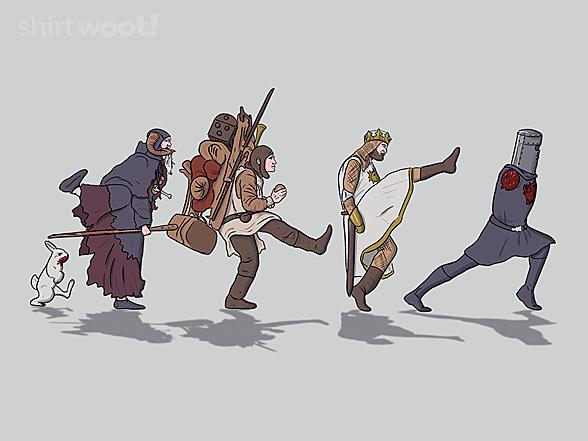Woot!: Walking Toward the Grail