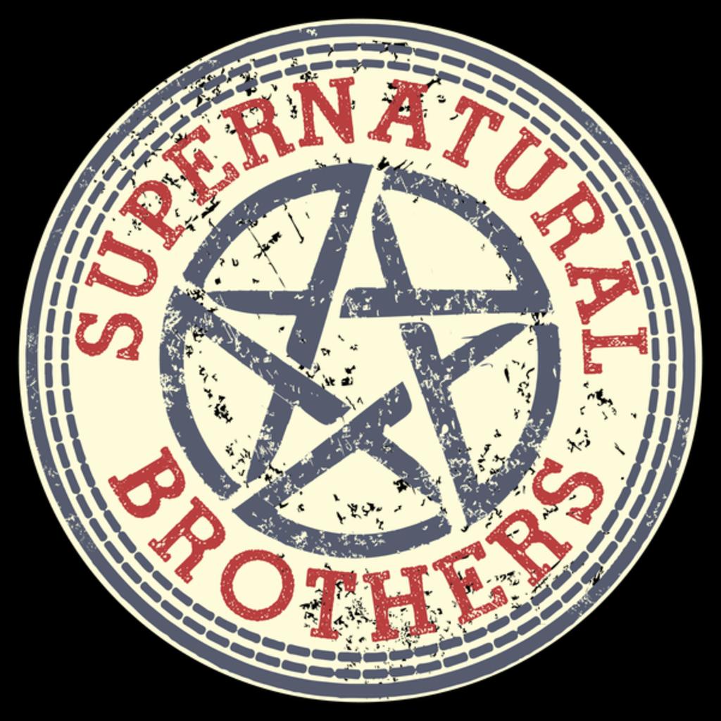 NeatoShop: SUPERNATURAL BROTHERS BADGE