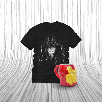 ShirtPunch: Mini Iron Man Bundle