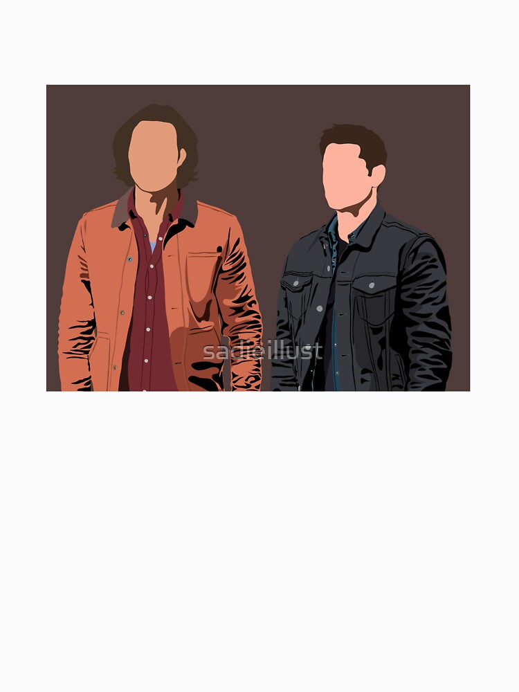 RedBubble: Dean and Sam Winchester