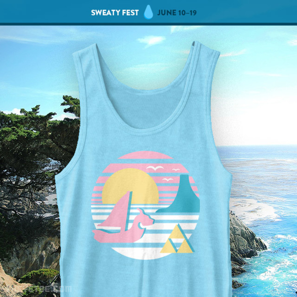 The Yetee: Great Sea Sunset Tank Top