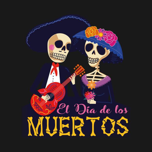 TeePublic: Dia De Los Muertos