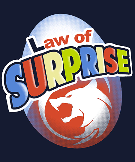 Qwertee: Law of Surprise