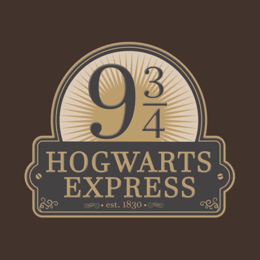 TeePublic: Hogwarts Express