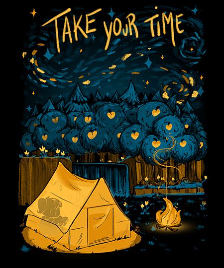 Qwertee: Take your time