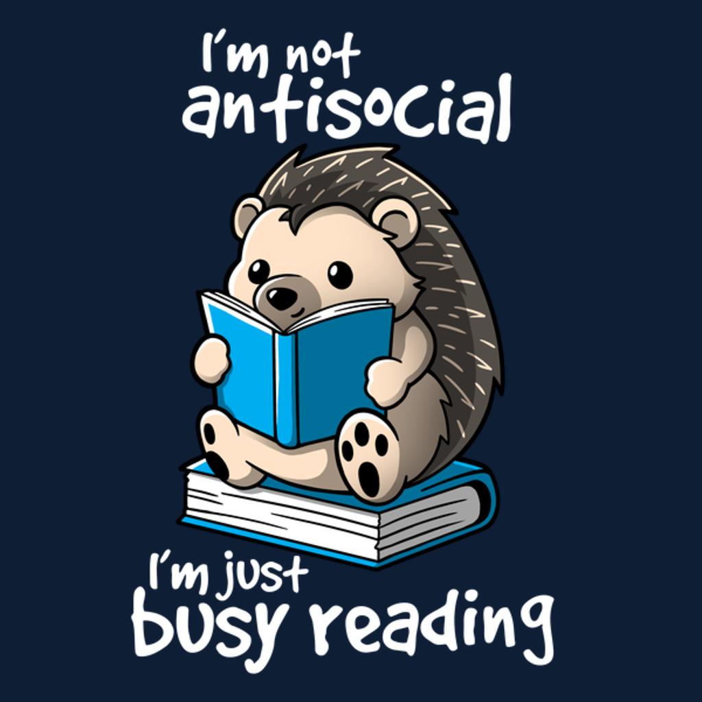 NeatoShop: Antisocial hedgehog