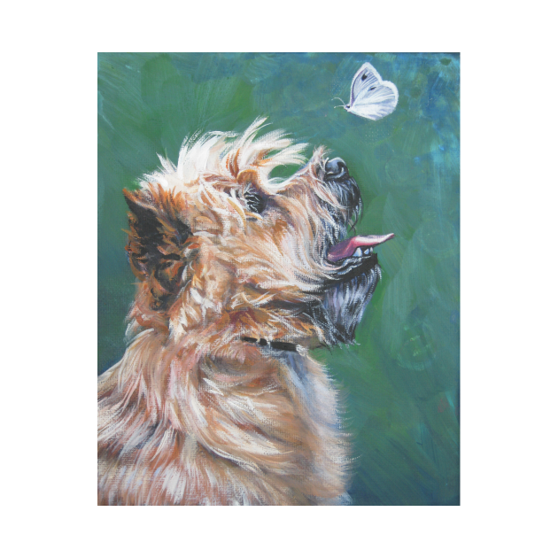 TeePublic: Cairn Terrier Fine Art Painting