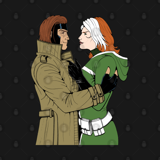 TeePublic: Gambit & Rogue