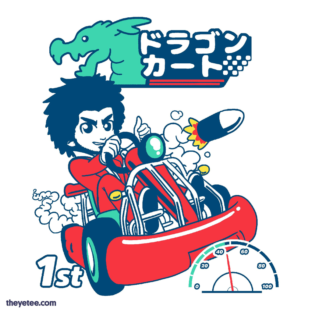 The Yetee: Ichiban Dragon Kart