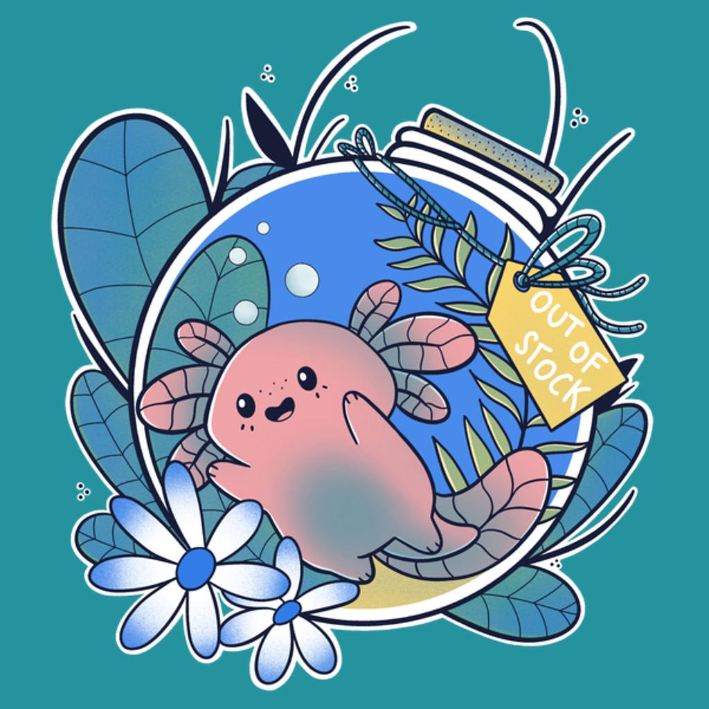 NeatoShop: Axolotl in Bottle