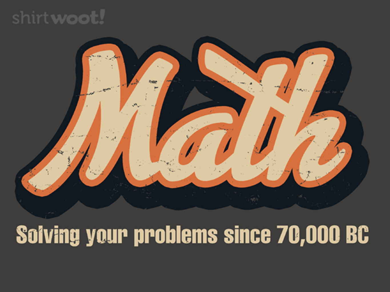 Woot!: Math Problems - $15.00 + Free shipping