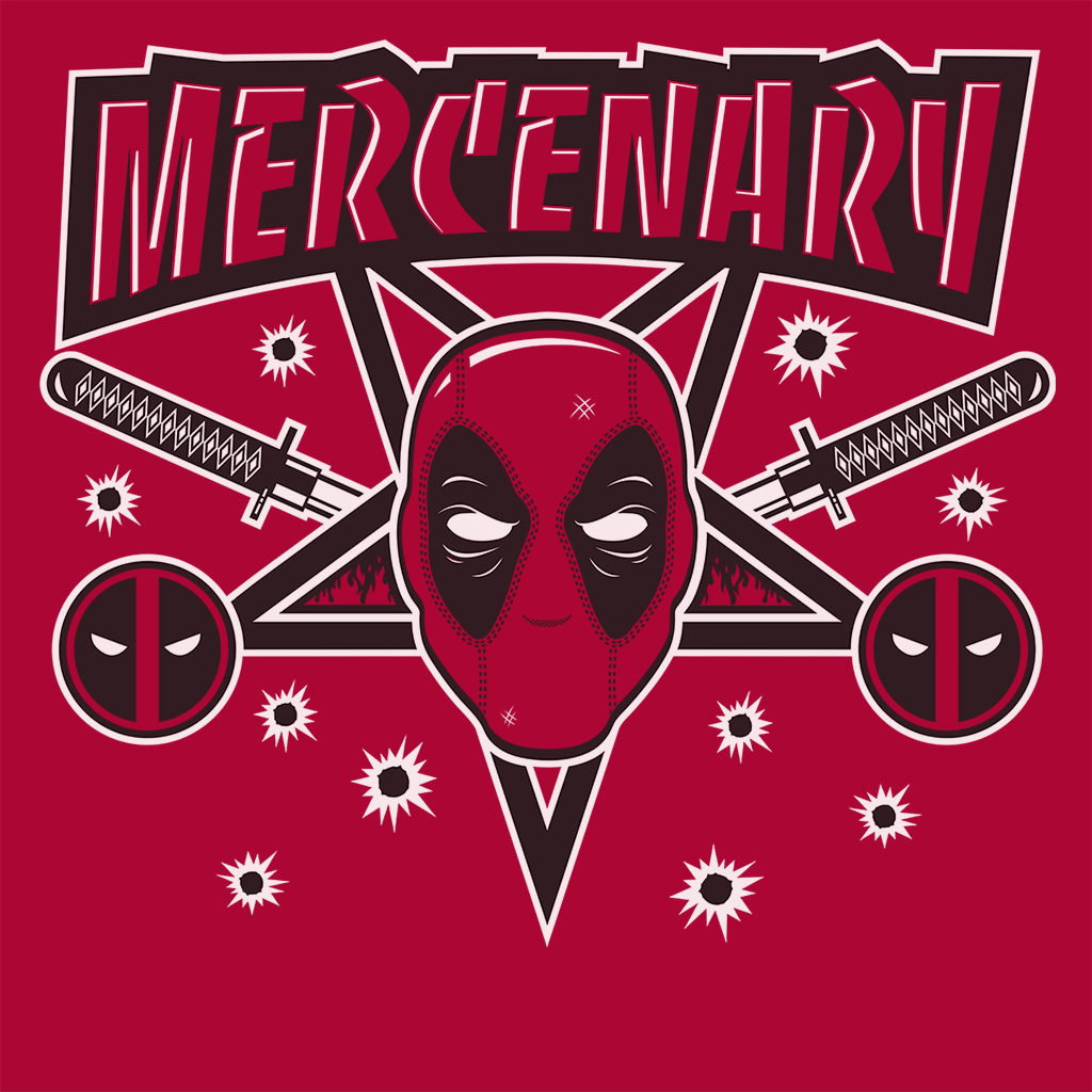 Pop-Up Tee: Mercenary