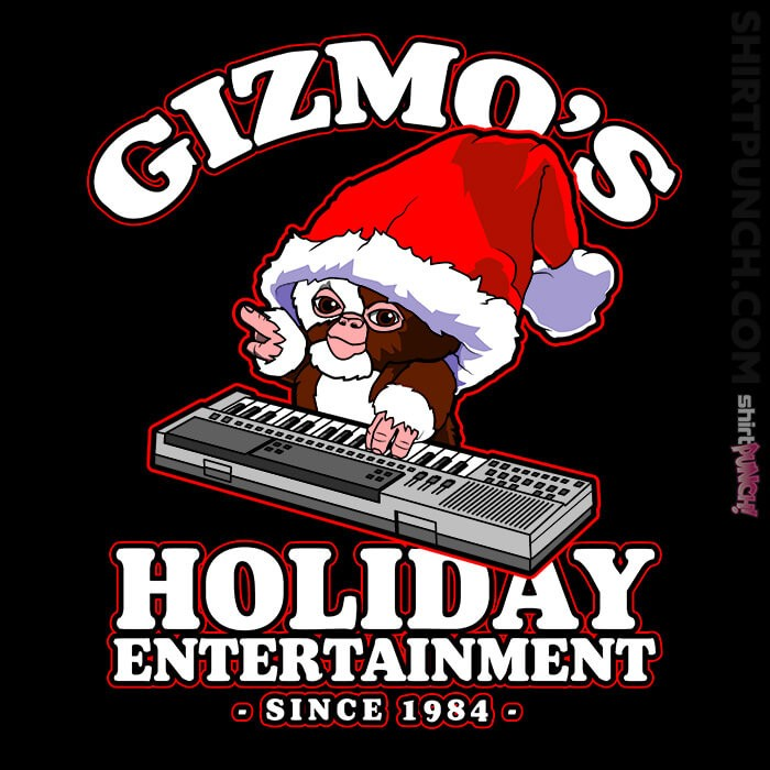 ShirtPunch: Gizmo's Holiday Entertainment '84
