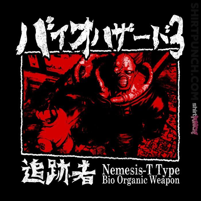 ShirtPunch: Bio Organic Weapon T Type