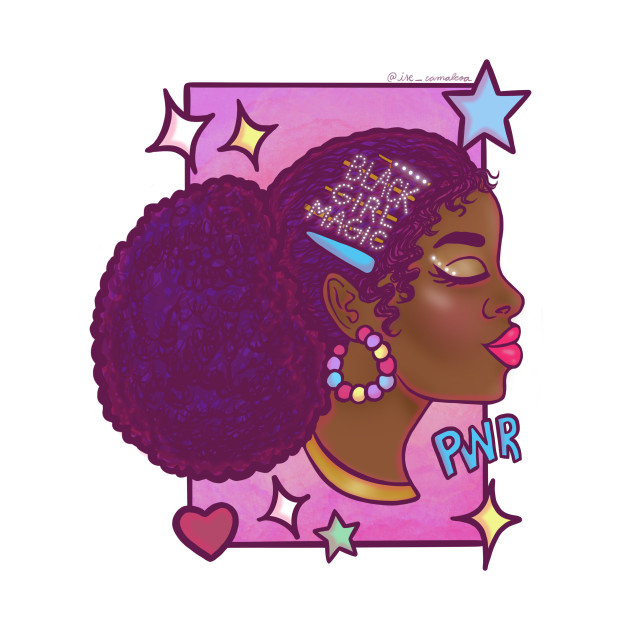 TeePublic: Black Girl Magic