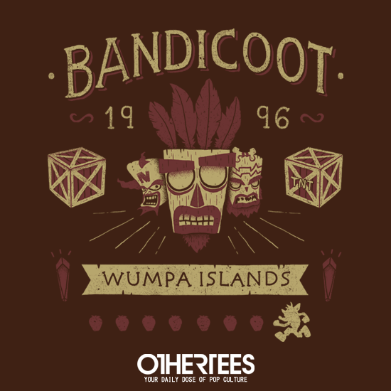 OtherTees: Bandicoot Time