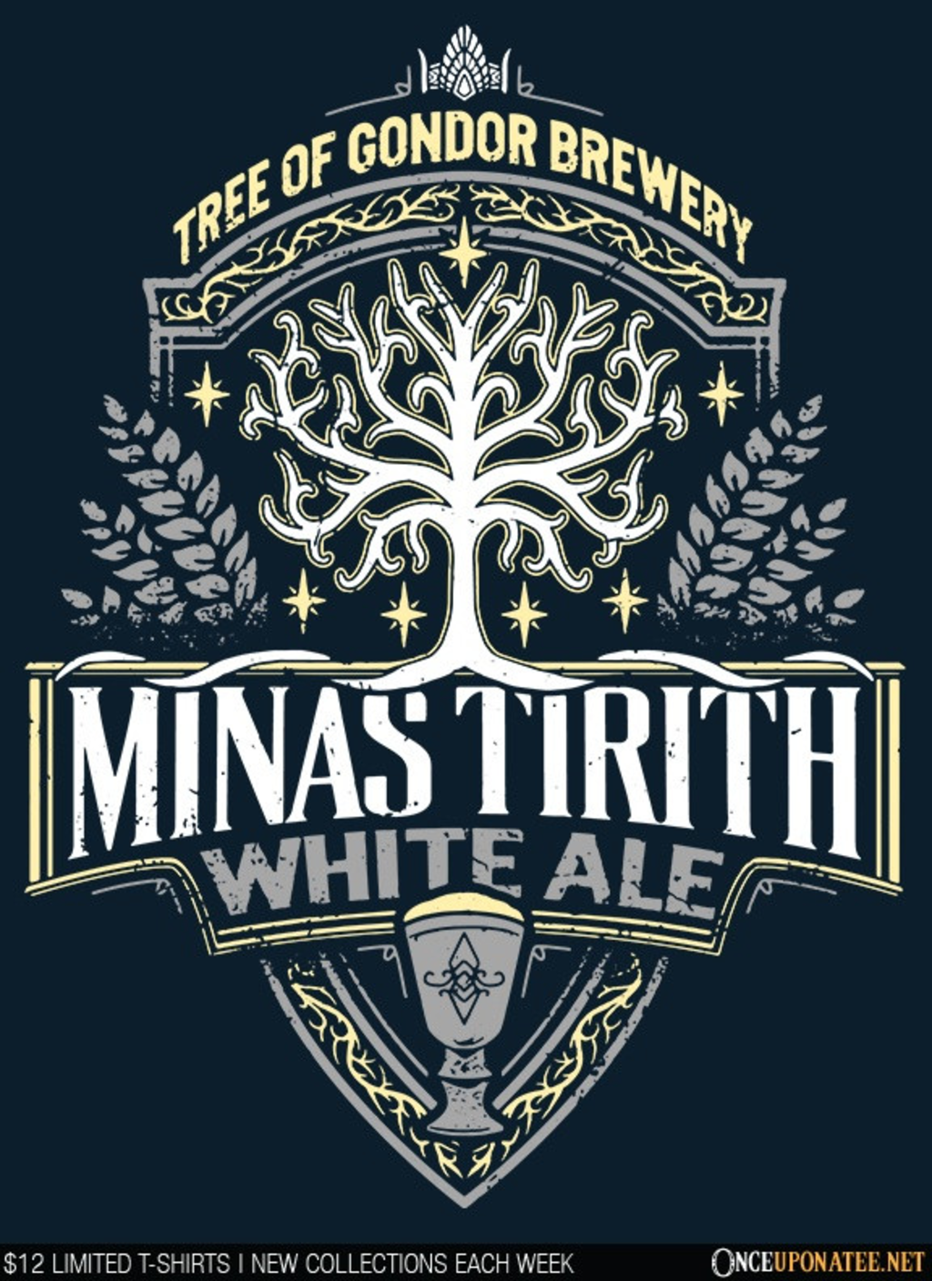 Once Upon a Tee: Minas Tirith White Ale