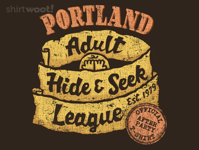 Woot!: Adult Hide and Seek League