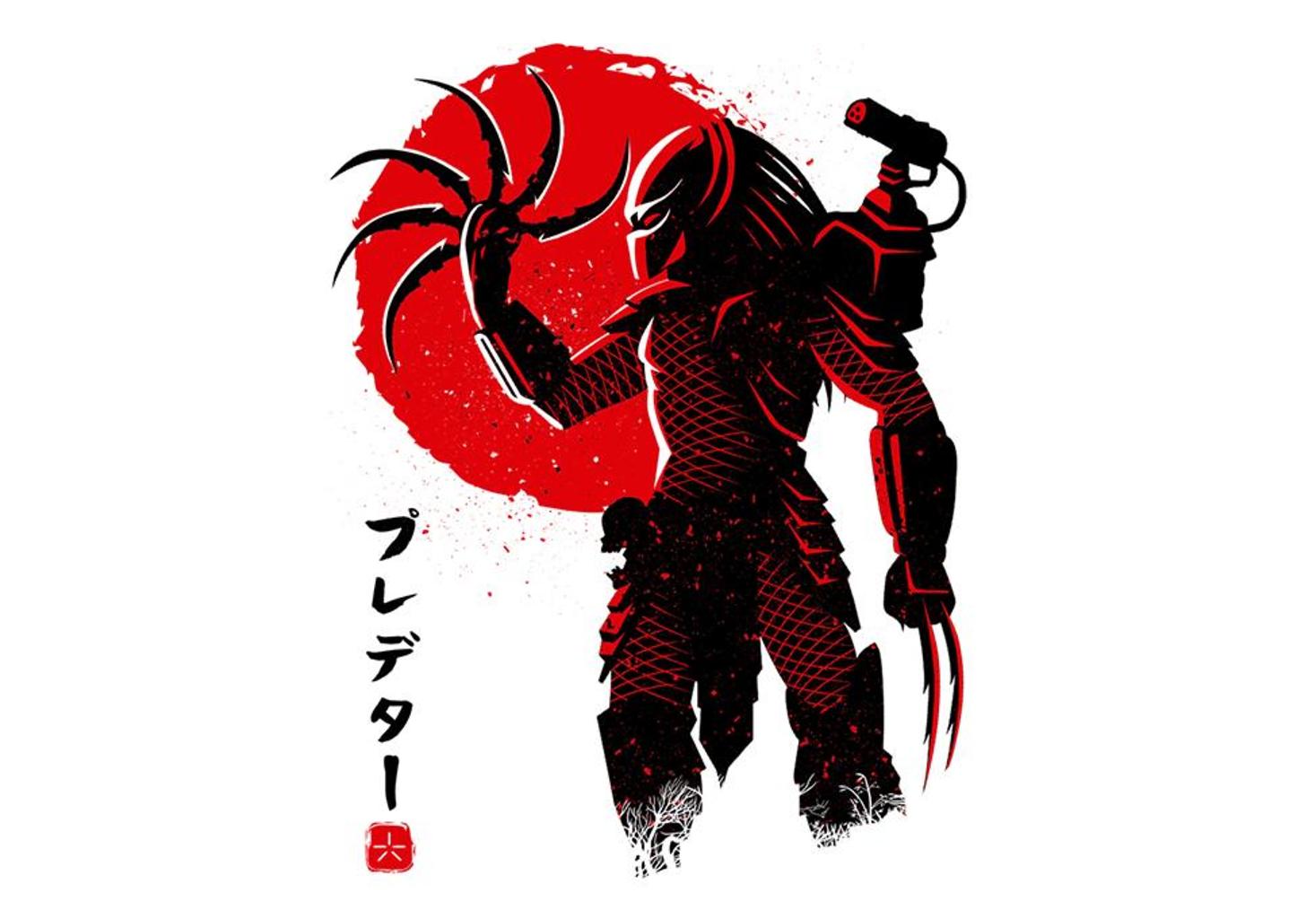 TeeFury: Predator Red