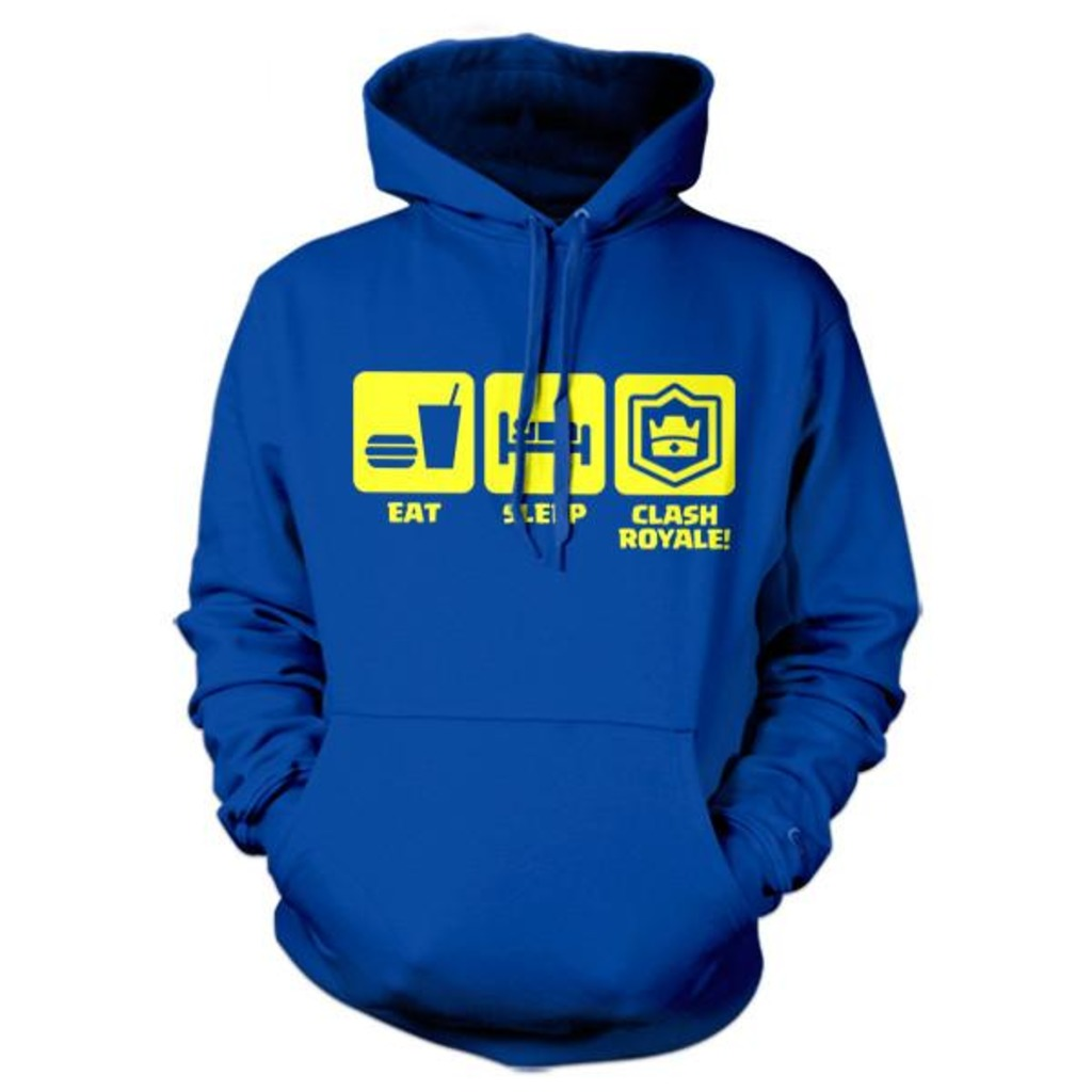 Five Finger Tees: Eat. Sleep. Clash Royale! Hoodie