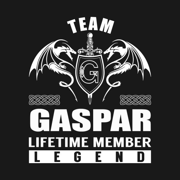 TeePublic: Team GASPAR Lifetime Member Legend