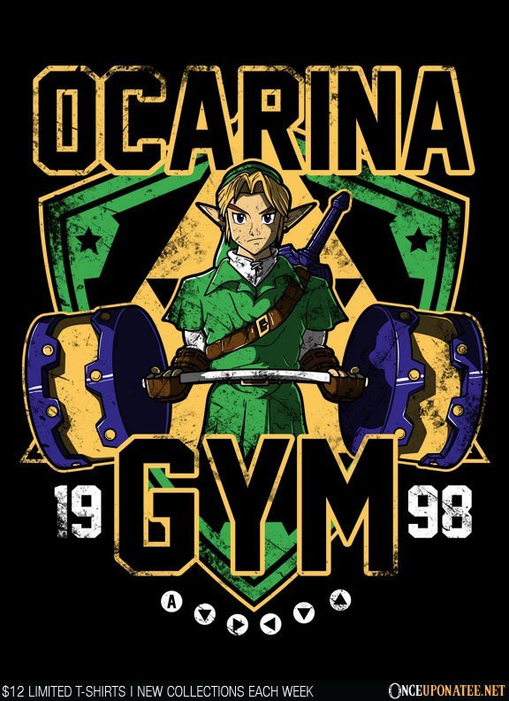 Once Upon a Tee: Ocarina Gym