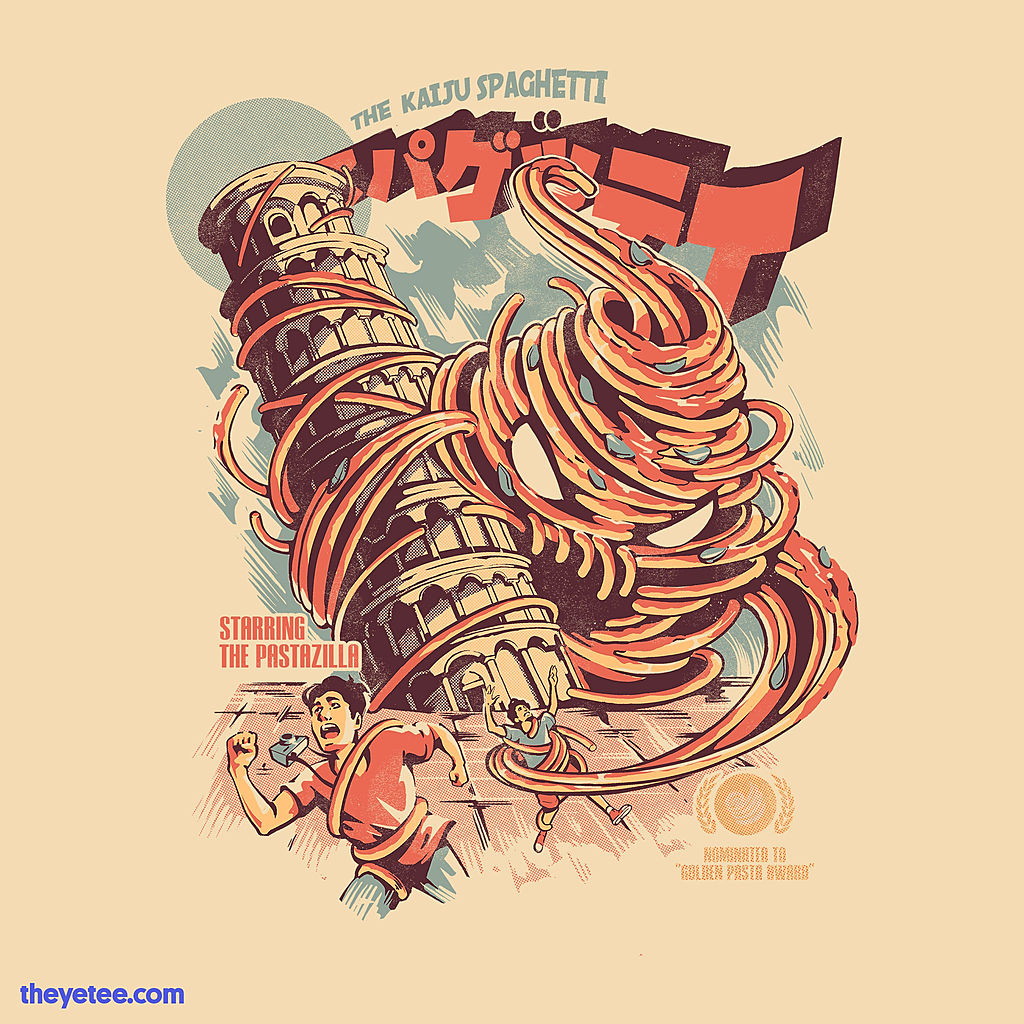 The Yetee: The Kaiju Spaghetti