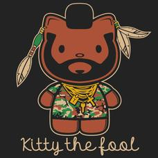 Textual Tees: Kitty The Fool T-Shirt