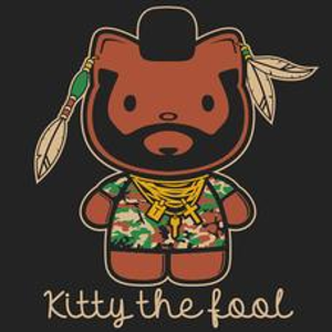 Textual Tees: Kitty The Fool T-Shirt