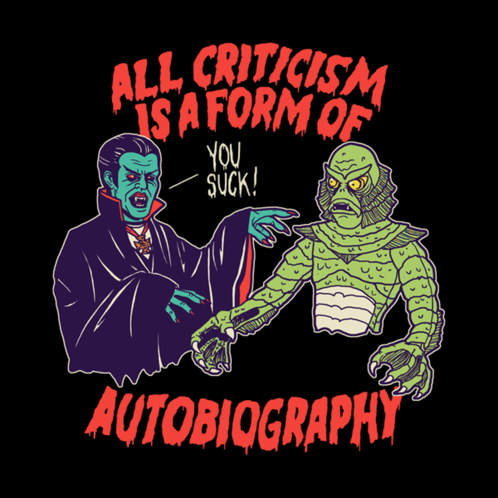 NeatoShop: Criticism Is Autobiography