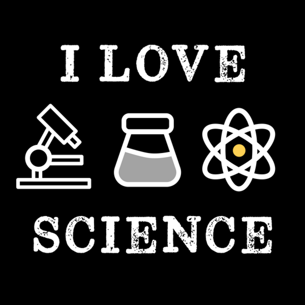 NeatoShop: Super Cool I Love Science Retro Vintage