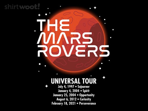 Woot!: The Mars Rovers