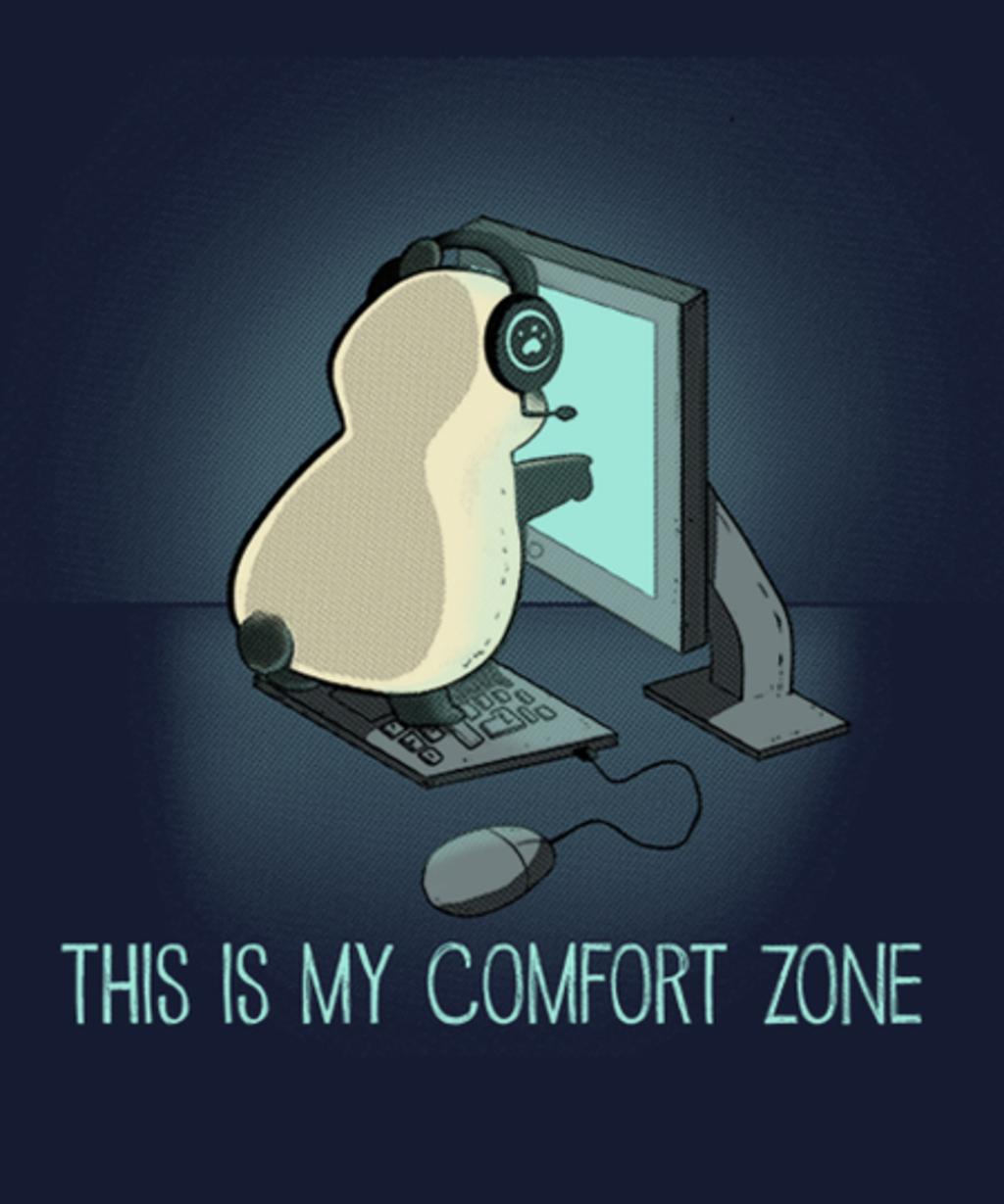 Qwertee: Comfort Zone