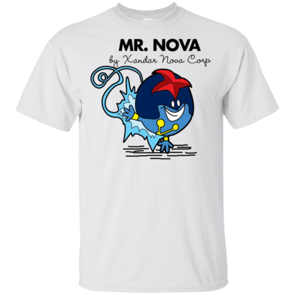 Pop-Up Tee: Mr Nova