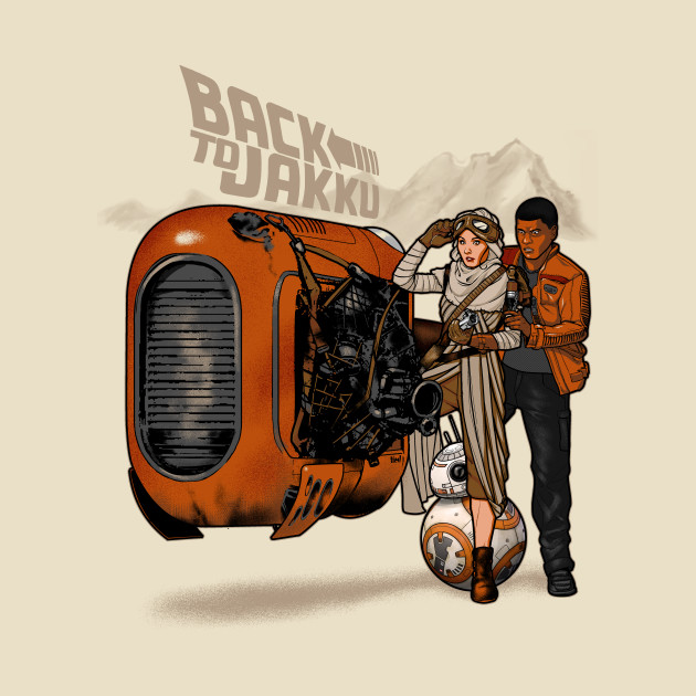 TeePublic: Back to Jakku