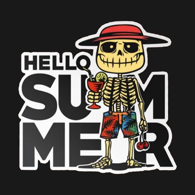 TeePublic: Hello Summer
