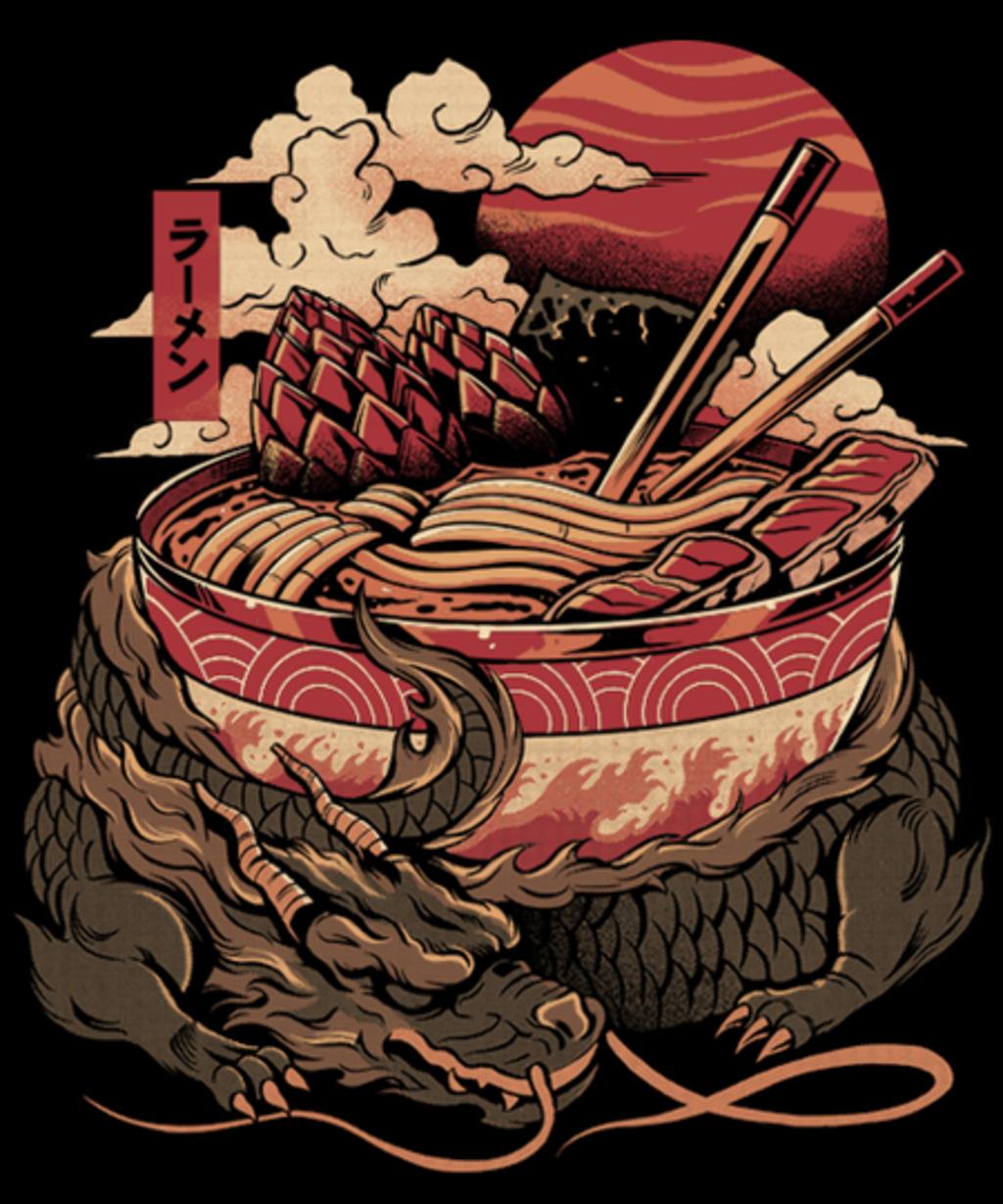 Qwertee: Dragon's Ramen