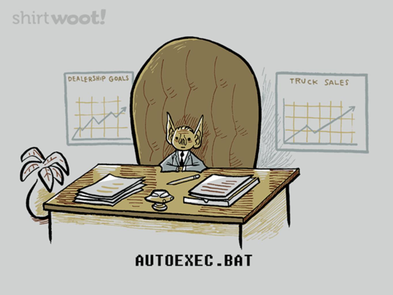 Woot!: Autoexec.bat